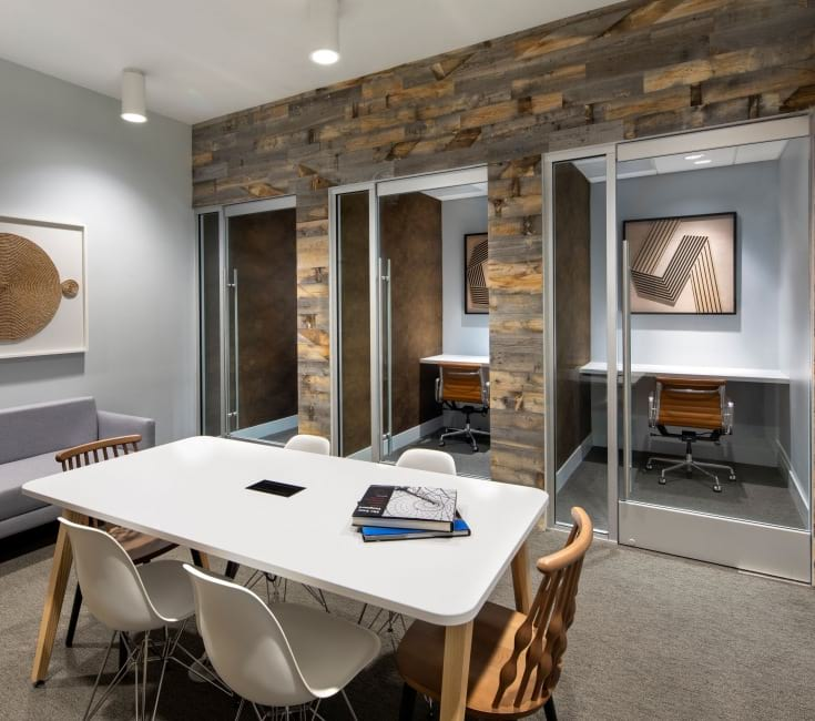 Community Lounge with Co-working Spaces